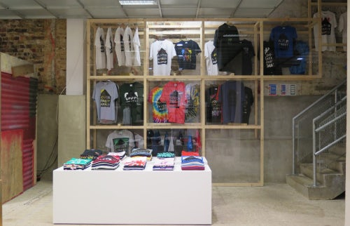 Dover Street Market's t-shirt space   Source: Courtesy