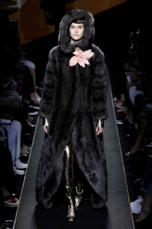 Fendi Haute Couture Fall 2015   Source: Indigital