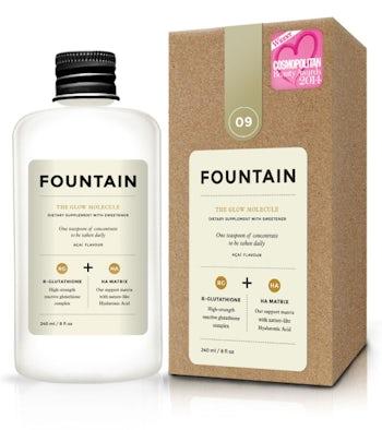 Foutain's Glow Molecule   Source: Fountain
