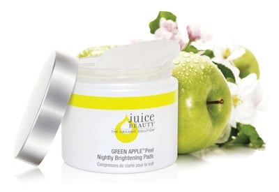 Juice Beauty's Green Apple Peel Nightly Brightening Pads | Source: Courtesy