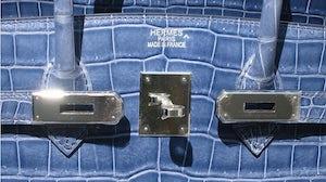 Hermès crocodile bag | Source: Flickr/Glenn A.