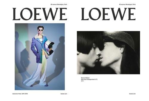 Loewe Autumn/Winter 2015 | Source:  Loewe