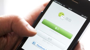 WeChat user | Source: Shutterstock