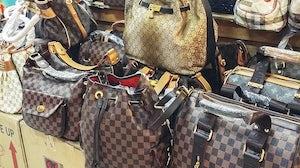Counterfeit handbags | Source: Shutterstock