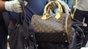 Counterfeit Louis Vuitton | Source: Shutterstock