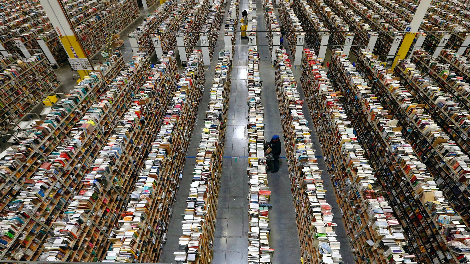 Amazon fulfilment centre | Source: Amazon