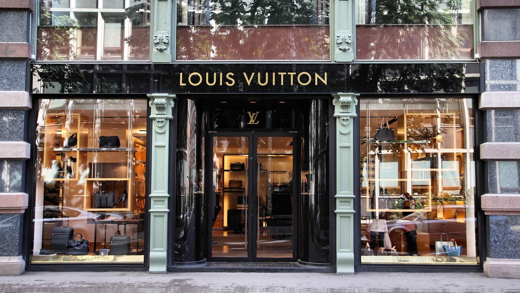 Louis Vuitton store   Source: Shutterstock