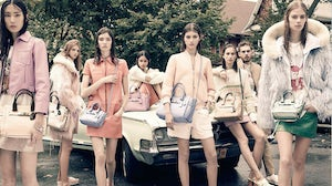 Coach spring/summer 2015 campaign | Source: Coach