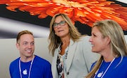 Angela Ahrendts, Apple's SVP of retail and online stores | Source: Getty Images/Bloomberg