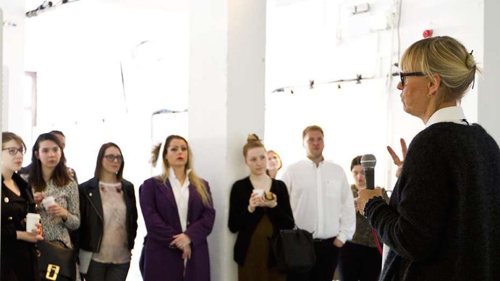 LCF students take part in a business project with Volvo | Source: Courtesy