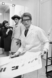 Yves Saint Laurent (1965) | Source: Getty
