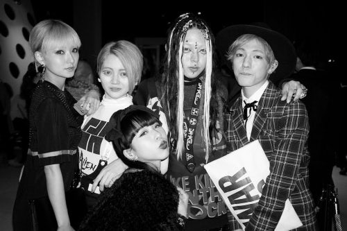 Attendees at the Miu Miu opening party in Aoyama | Source: Tokyo Dandy