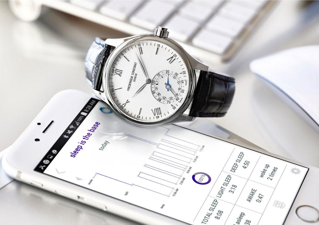 Frédérique Constant smartwatch | Source: Frédérique Constant