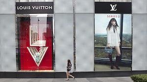 Louis Vuitton store in Dalian, China | Source: Shutterstock