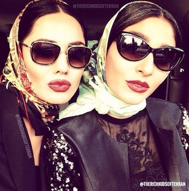 A selfie of young Iranians | Source: Instagram/Rich Kids of Tehran