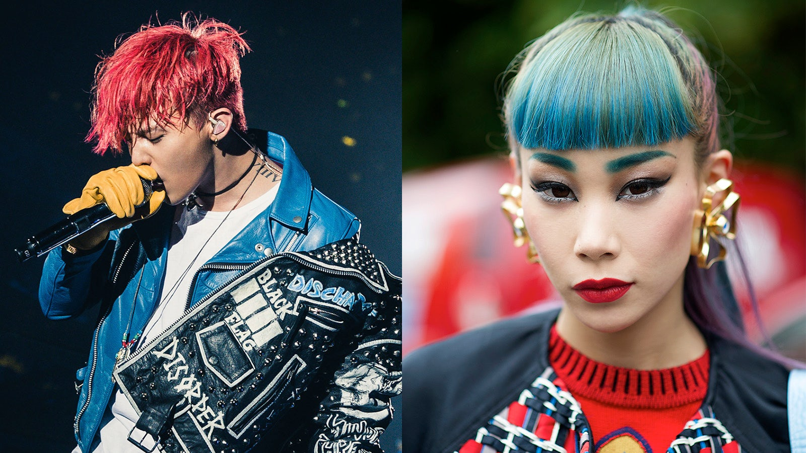 G-Dragon (L) and Mademoiselle Yulia (R) | Photo: YG Entertainment (L) and Youngjun Koo (R)