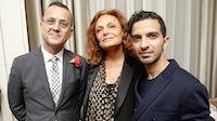 Steven Kolb, Diane von Furstenberg and Imran Amed | Photo: BFA NYC