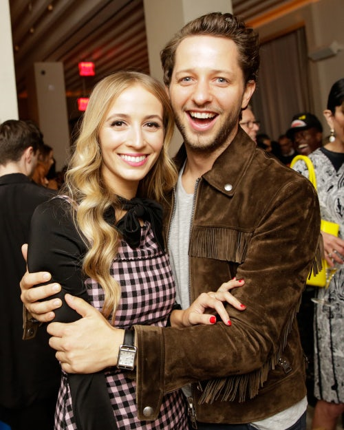 Harley Viera-Newton and Derek Blasberg | Photo: BFA NYC