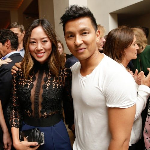 Aimee Song and Prabal Gurung | Photo: BFA NYC
