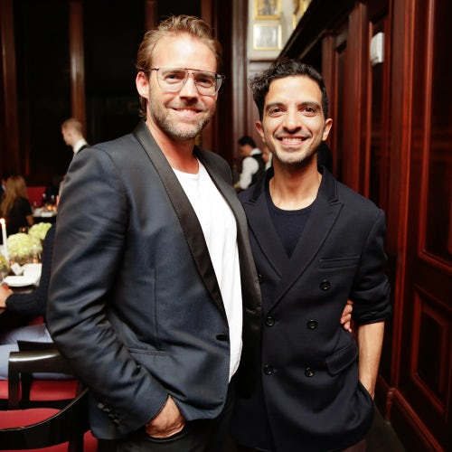 Stuart Miller and Imran Amed | Photo: BFA NYC