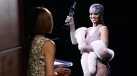 Rihanna receiving her CFDA Style Icon Award with Anna Wintour | Source: BFA