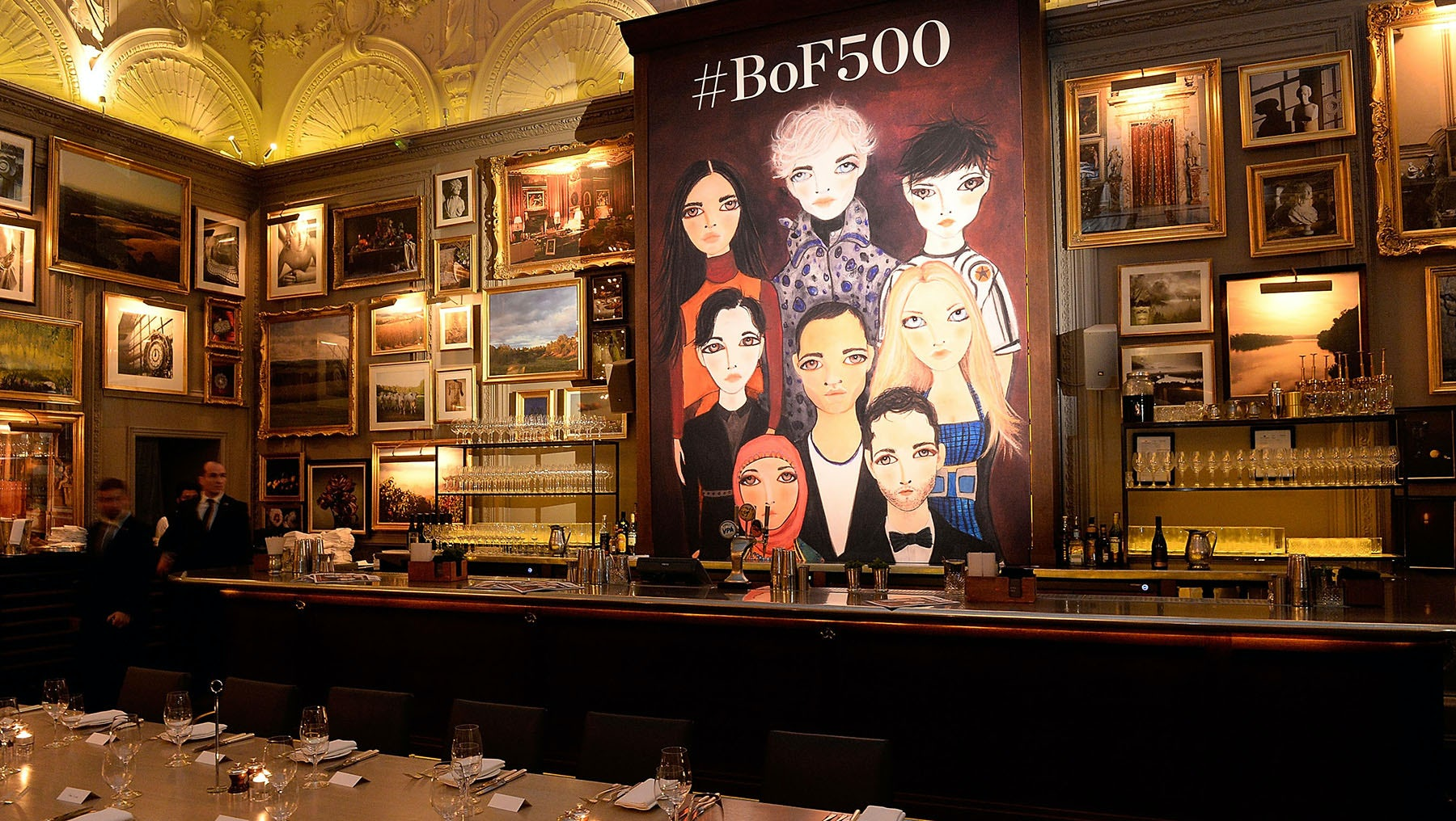 The Business Of Fashion #BoF500 Gala at the London Edition Hotel | Photo: Dave Bennett