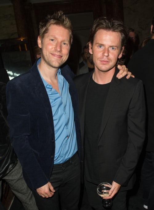 Christopher Bailey and Christopher Kane | Photo: Samir Hussein