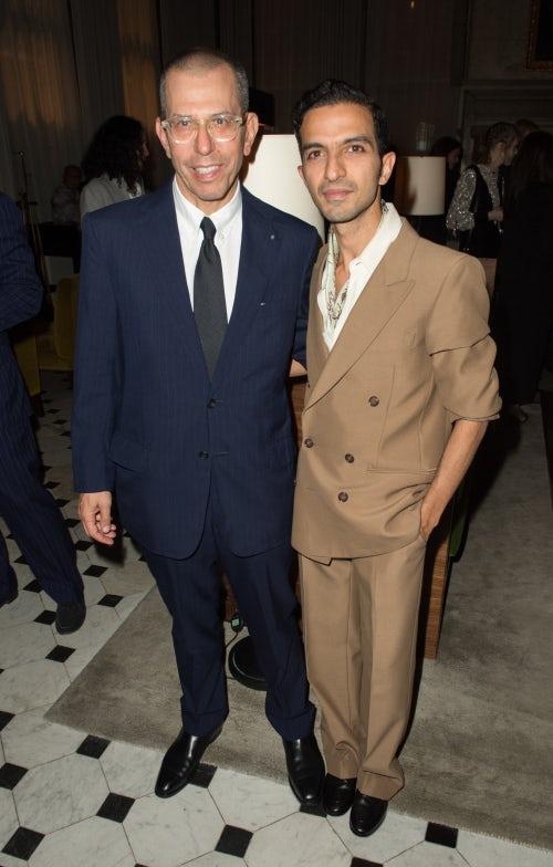 Jonathan Newhouse and Imran Amed | Photo: Samir Hussein