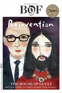 Cover of the BoF 500 'Reinvention' special print edition
