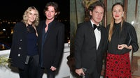 From left: Sarah Crook and Christopher Kane; Christopher and Tammy Kane | Source: Getty