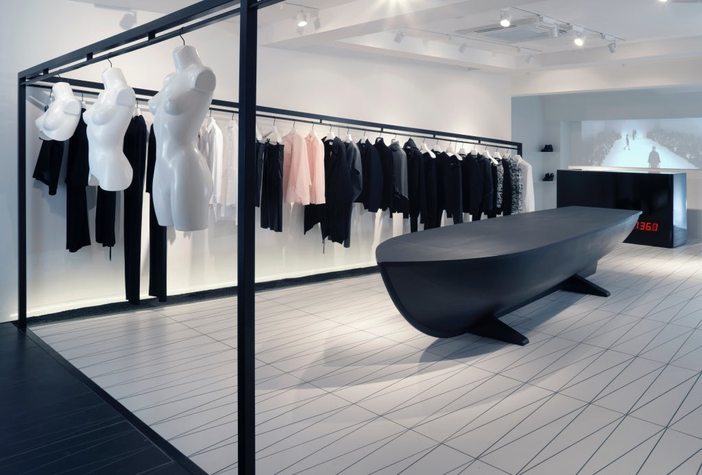 Inside Hussein Chalayan's flagship store | Source: Courtesy