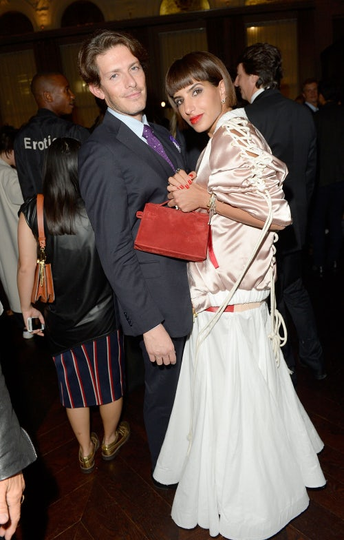 Edgardo Osorio and Princess Deena Aljuhani Abdulaziz | Photo: Dave Bennett