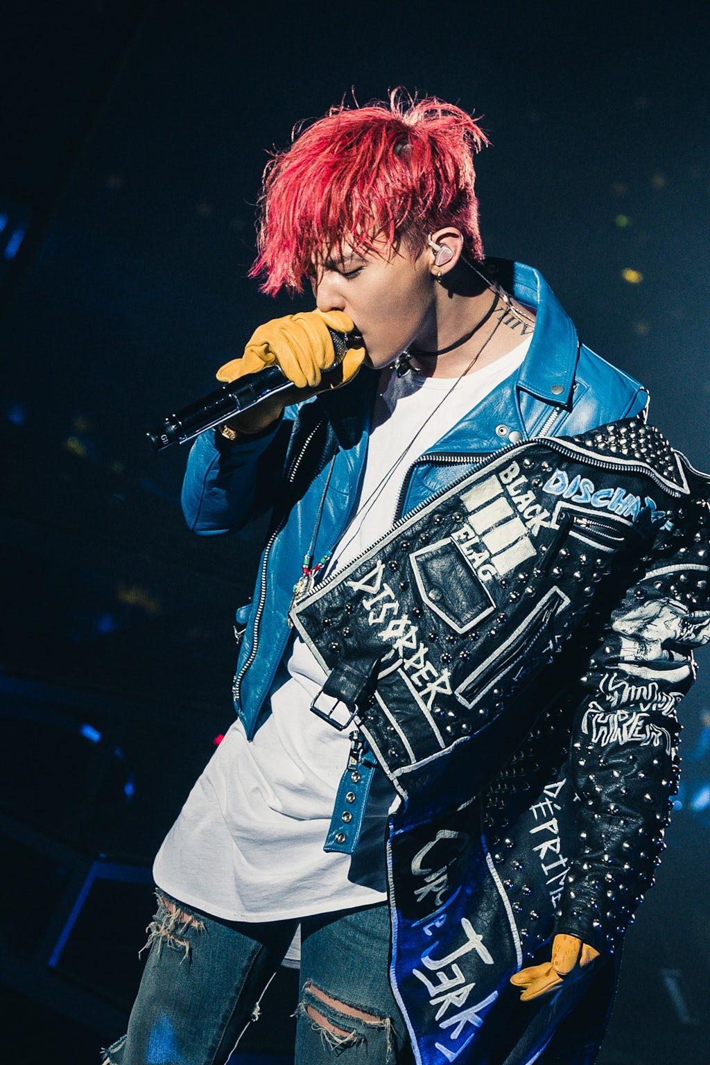 G-Dragon   Source: YG Entertainment