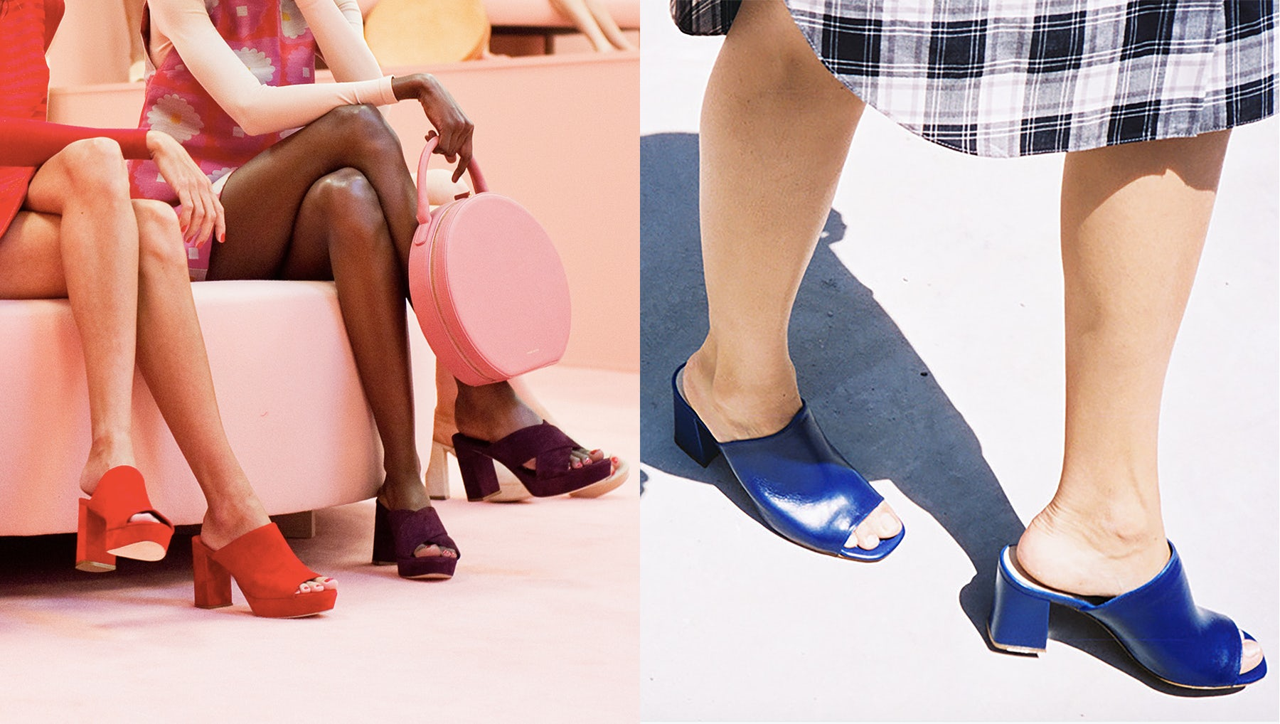 From left: Mansur Gavriel Spring 2016, Maryam Nassir Zadeh Spring 2015 | Source: Courtesy
