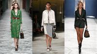 Gucci, Prada and Versace Spring/Summer 2016 at Milan Fashion Week | Source: Indigital