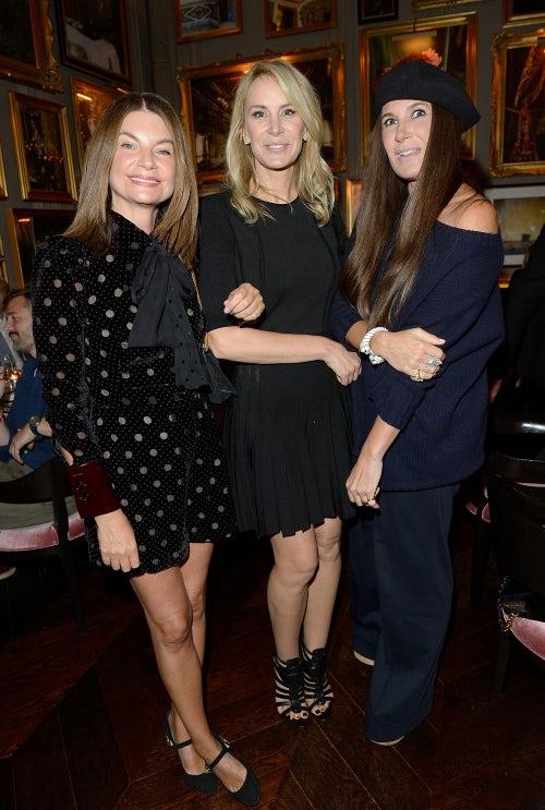 Natalie Massenet, Dee Hilfiger and Elizabeth Saltzman | Photo: Getty
