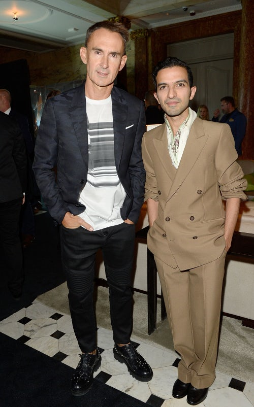 Neil Barrett and Imran Amed | Photo: Getty