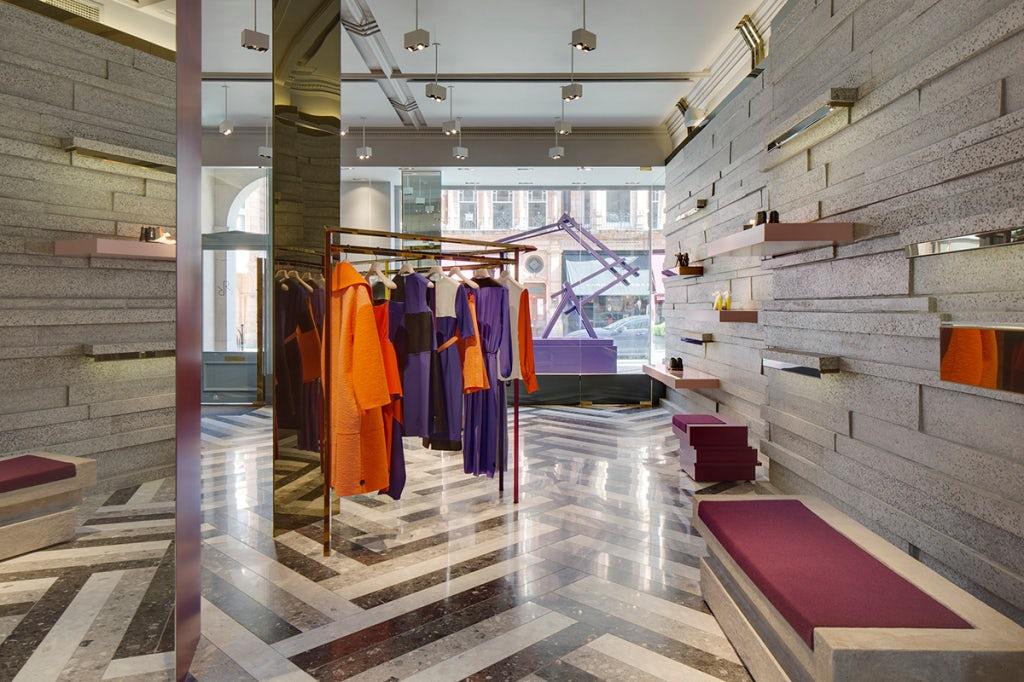 The inside of Roksanda's store | Source: Courtesy