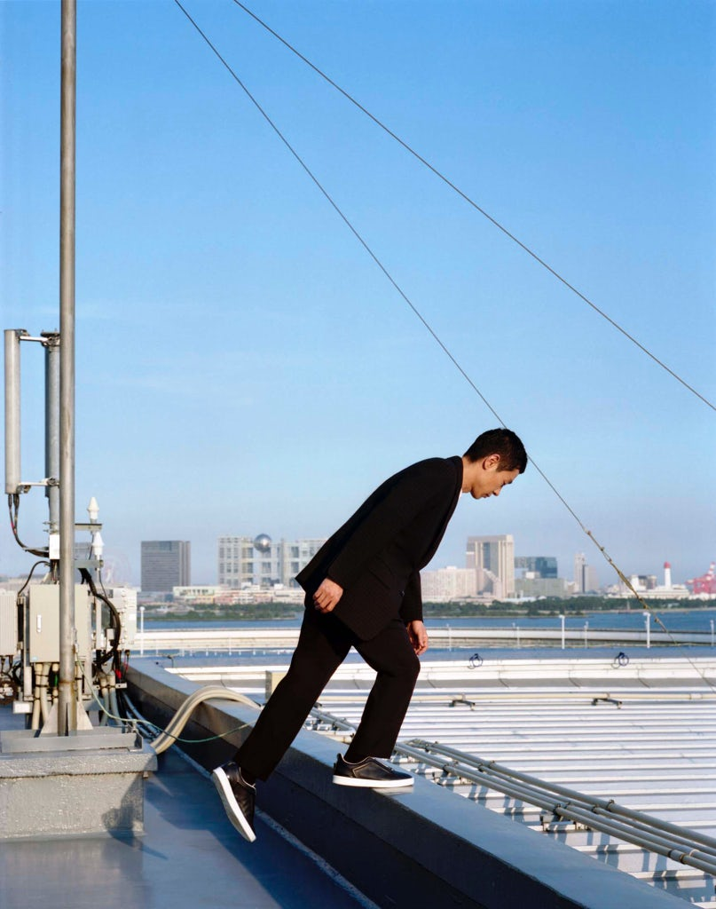 Ryo Kase by Takashi Homma | Source: Zegna