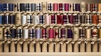 Options from Burberry's customisable scarf bar | Source: Courtesy