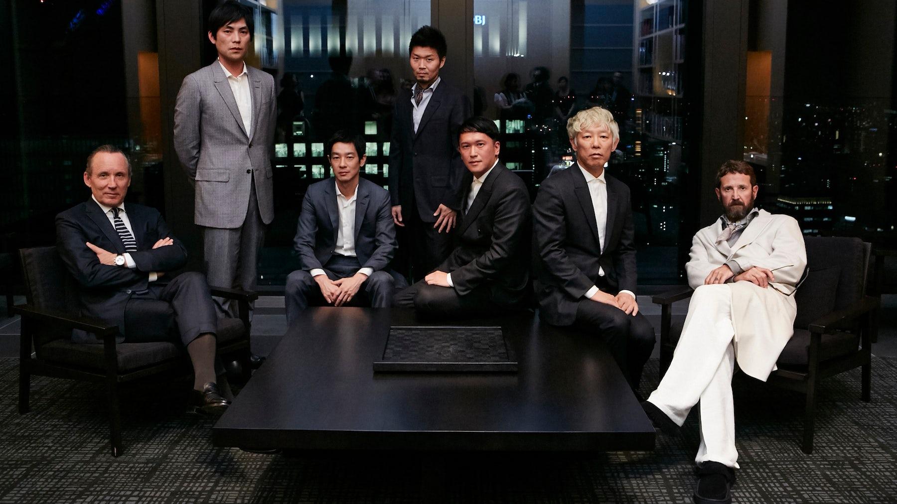 Gildo Zegna, Shohei Shigematsu, Ryo Kase, Zaiyu Hasegawa, Kaie Murakami, Takashi Homma, Stefano Pilati | Source: Courtesy