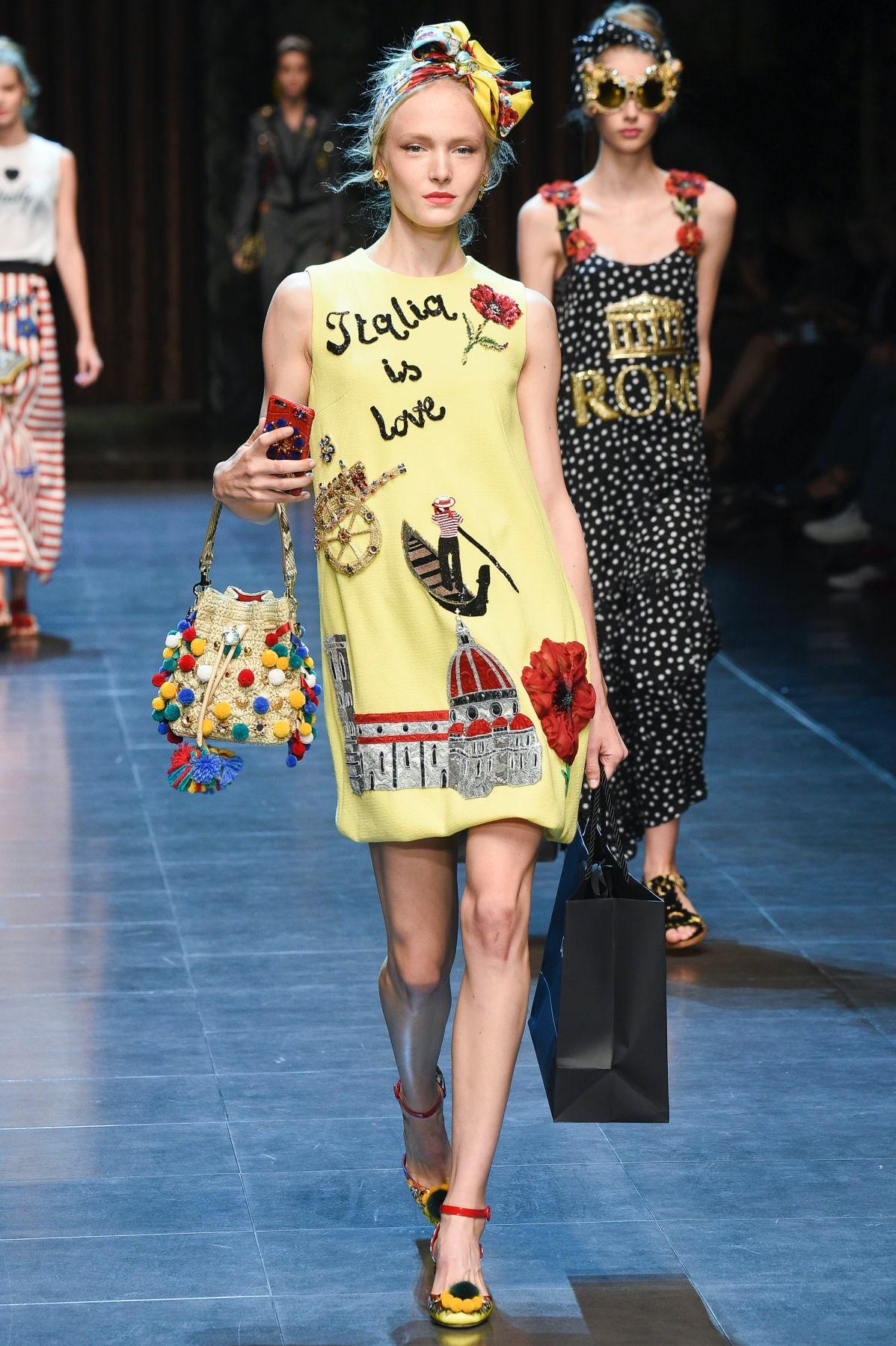 Dolce & Gabbana Spring/Summer 2016 | Source: Indigital
