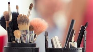 Cosmetics brushes | Source: Shutterstock