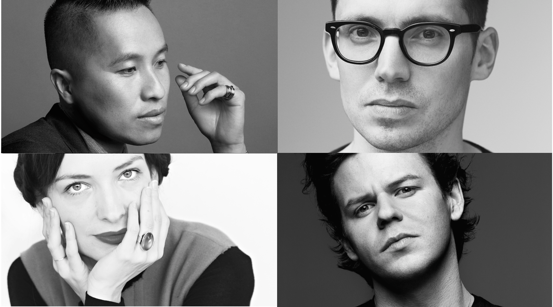 Erdem Moralıoğlu, Christopher Kane, Phillip Lim and Roksanda Ilincic | Source: Courtesy
