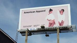 An American Apparel billboard | Source: Flickr/Emily Burnett