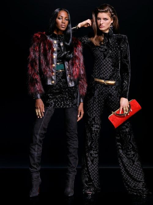 Balmain x H&M womenswear | Source: Courtesy