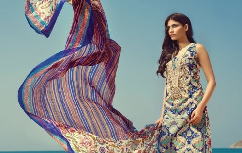 A design by Pakistani fashion brand Sana Safinaz | Source: Sana Safinaz