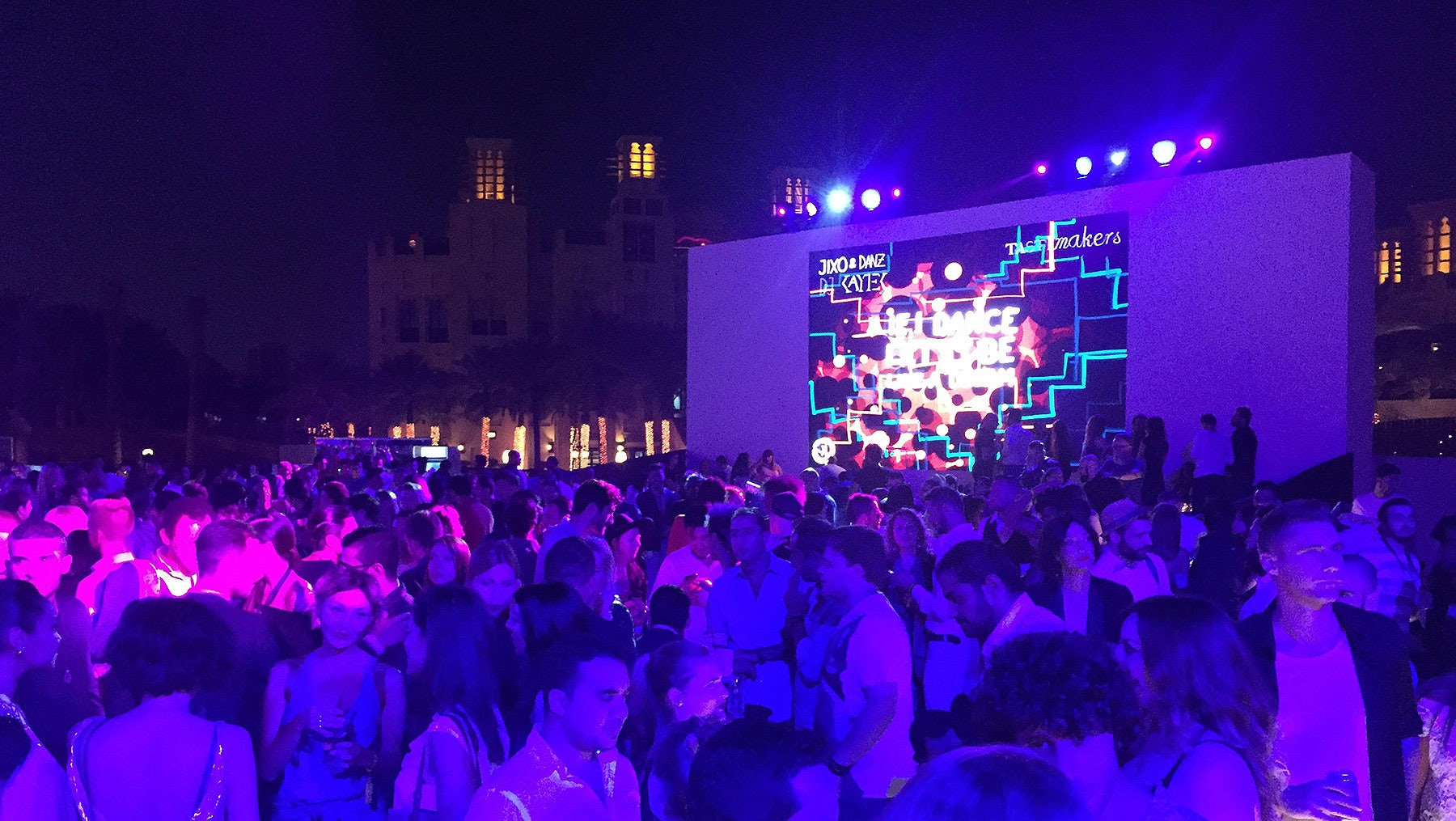 Guests at Fashion Forward Dubai 2015 | Photo: BoF