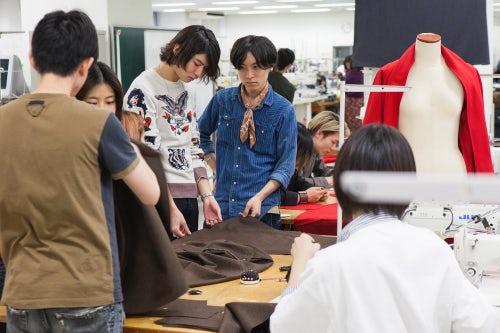 Students at Bunka Fashion College | Photo: Dan Bailey for BoF