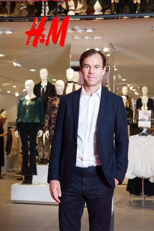 Karl-Johan Persson, CEO of H&M | Source: Courtesy